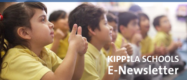 Back To School Kipp La September E Newsletter